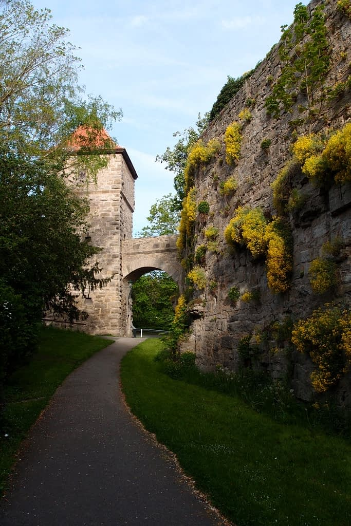Rothenburg wall towers