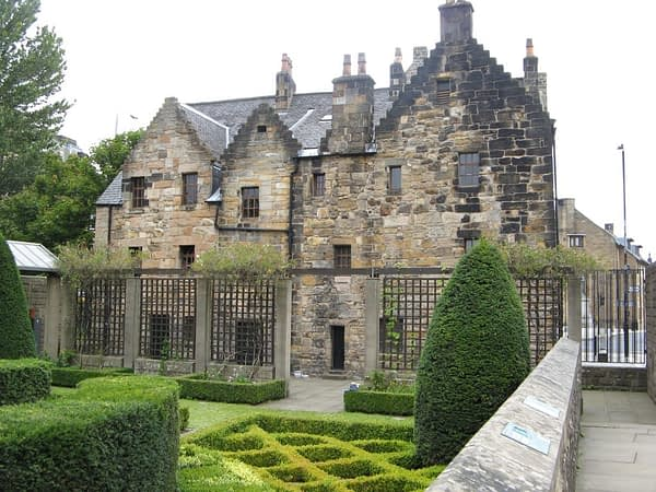 Provand's Lordship back of house