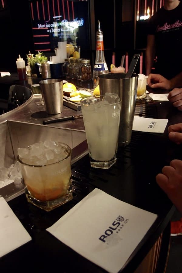 """house of bols """"make your own"""" bar"""