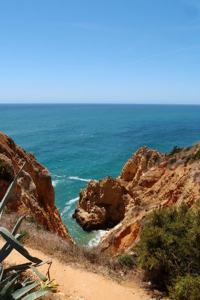 Lagos, Portugal clifftop view