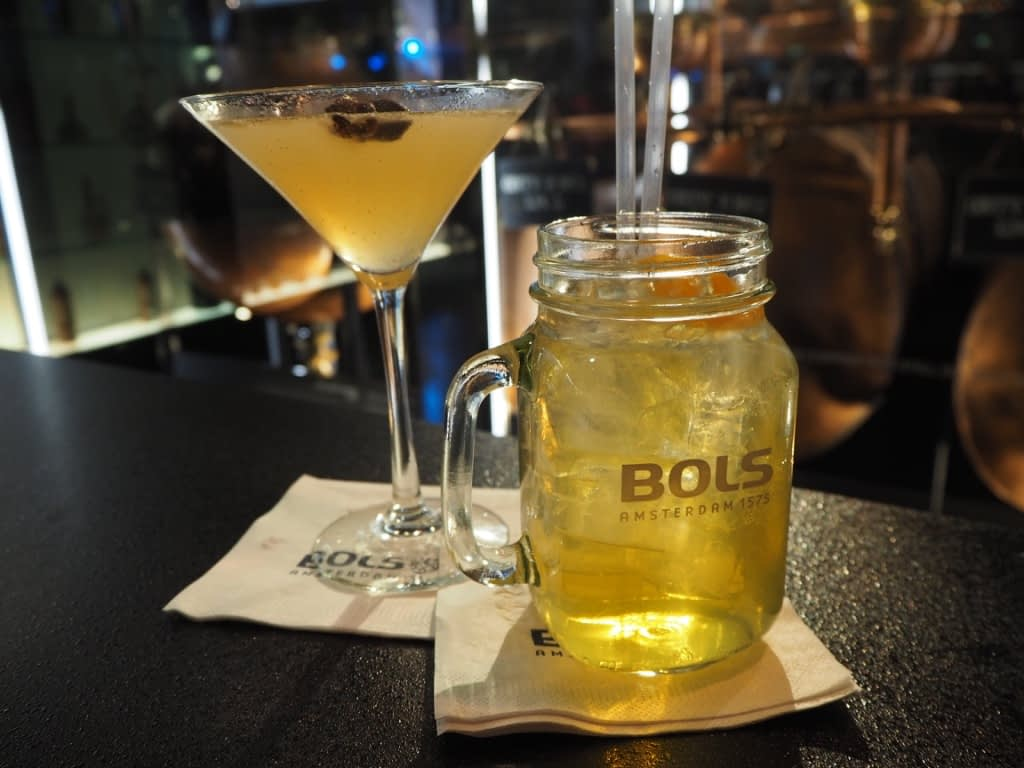 cocktails at the House of Bols