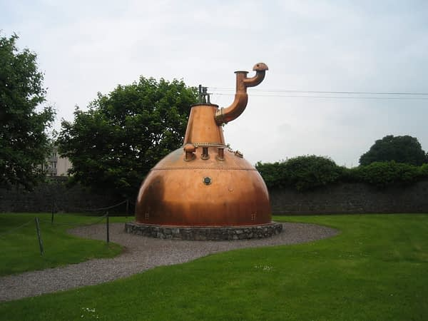 largest pot still in the world - midleton