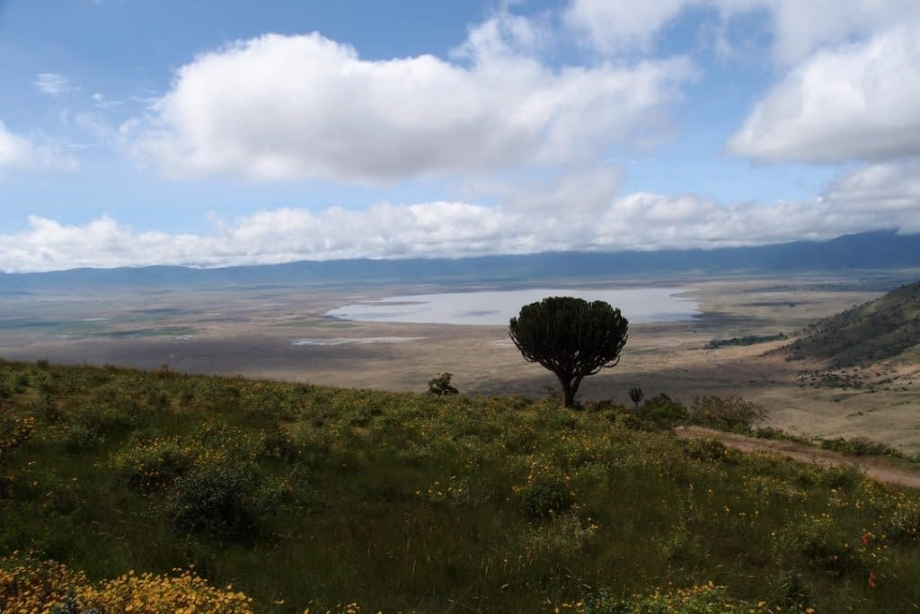 Ngorongoro Crater view
