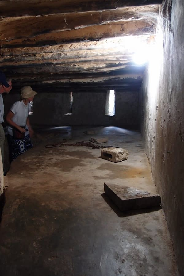 basement under st. monica's in stone town