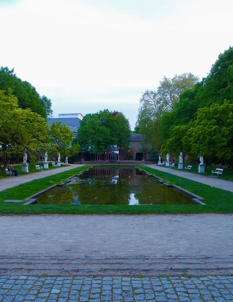 Electotal Palace gardens, Trier