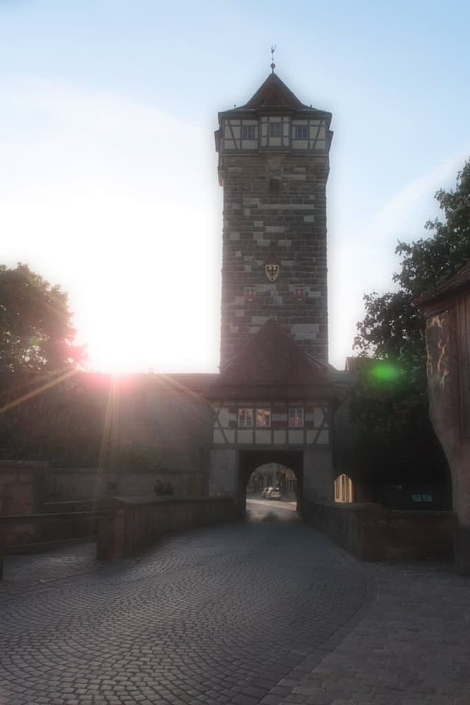 Roder gate and tower