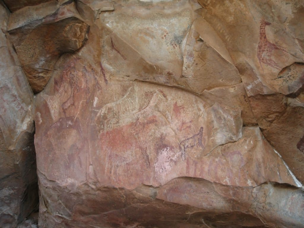 Kaoxa rock shelter art