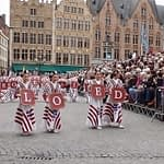 The Procession of the Holy Blood in Bruges, Belgium