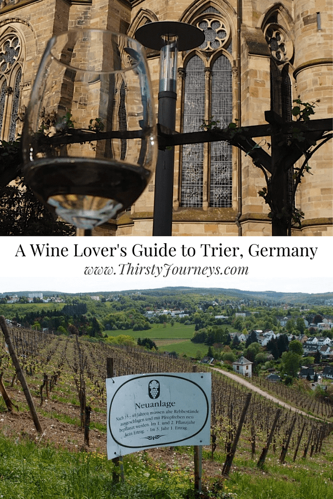 wine in Trier, Germany
