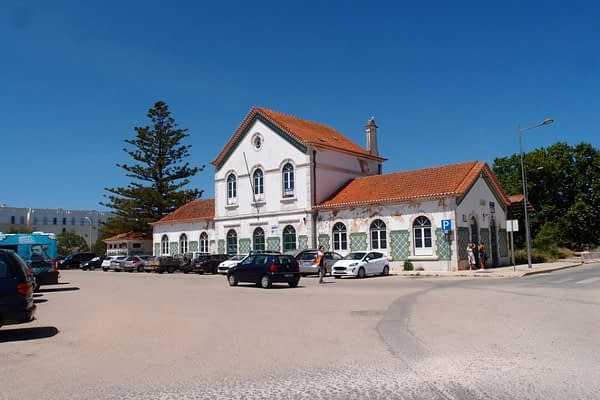 old train station in Lagos, Portugal
