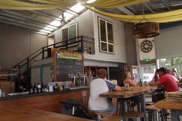 black duck brewery and bar
