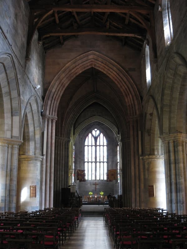 Church of the Holy Rude interior