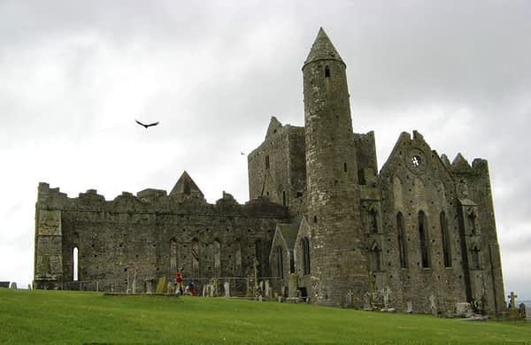 the round tower, rock of cashel