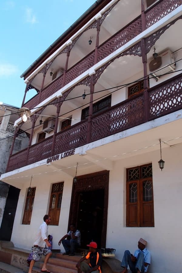 safari lodge hotel Stone Town