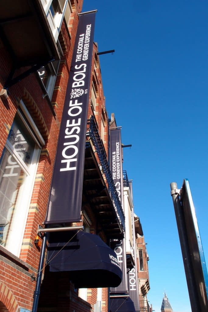 House of Bols sign