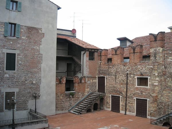 A view from Juliets House, Verona