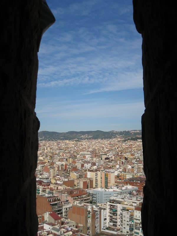view from Sagrada Familia