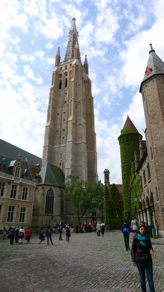 Church of Our Lady steeple, Bruges, Belgium