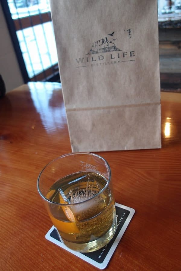 Wild Life Distillery cocktail