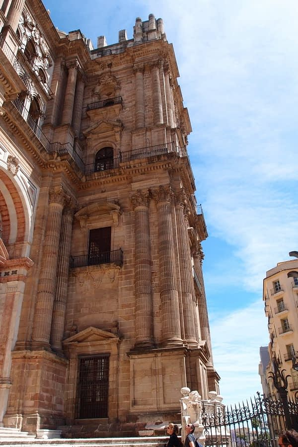 Malaga Cathedral unfinished tower