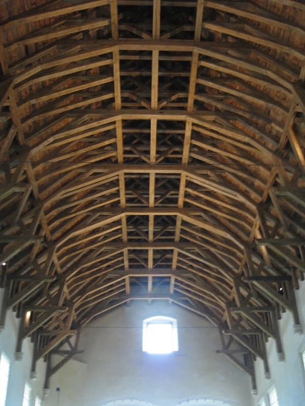 The Great Hall ceiling, Stirling Castle