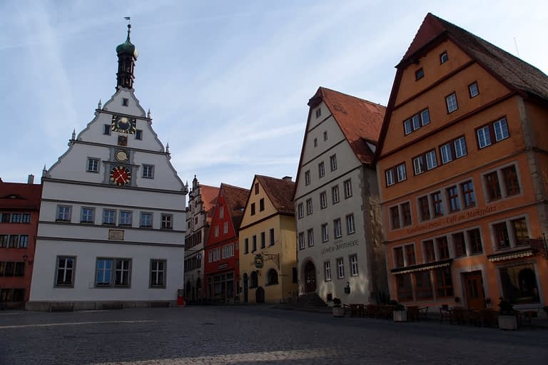 Rothenburg Town Square