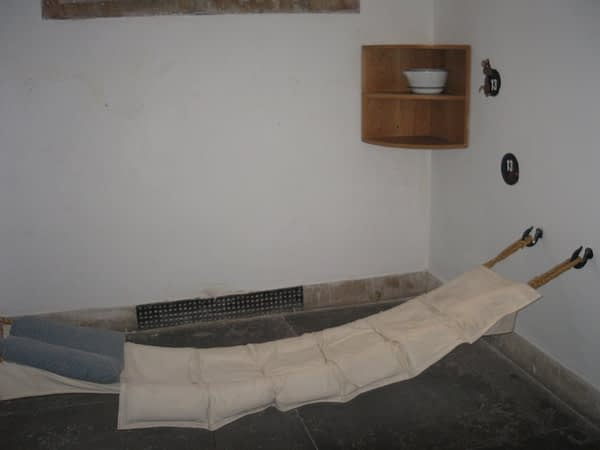Inmate's bed, Old Town Jail