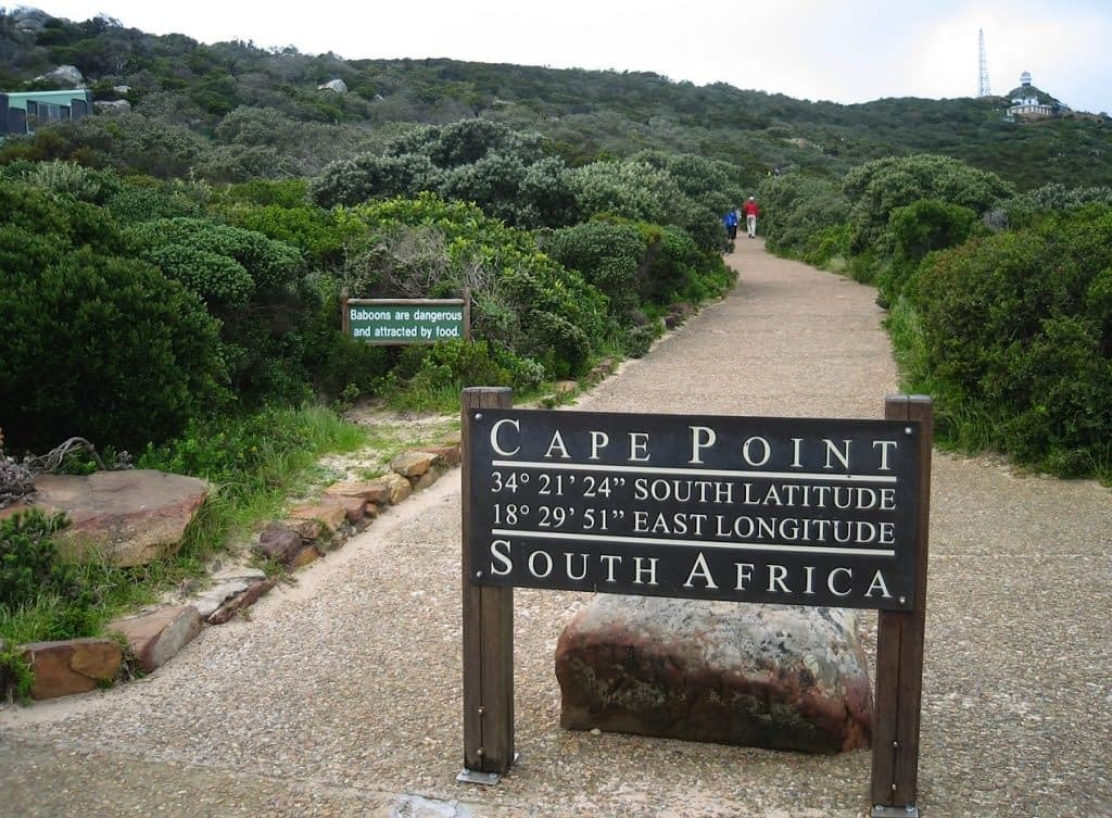 Cape of Good Hope trail South Africa