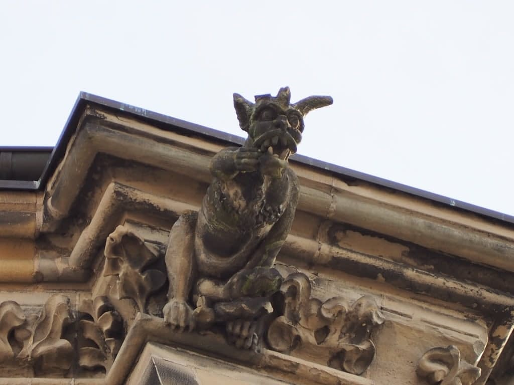 gargoyle on St. Peter's Cathedral, Trier