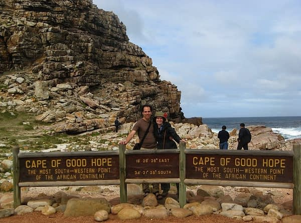 Cape of Good Hope sign South Africa