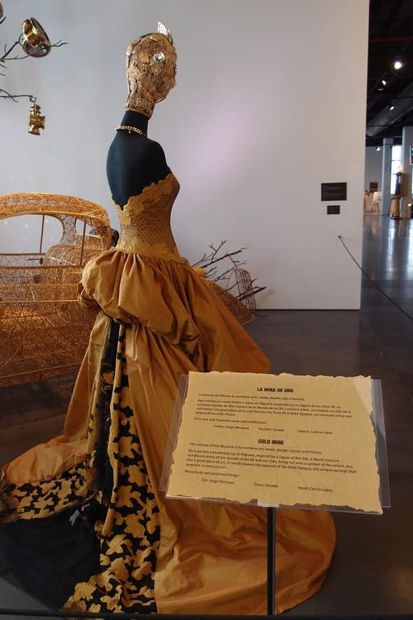 gold mine exhibit, automobile and fashion museum