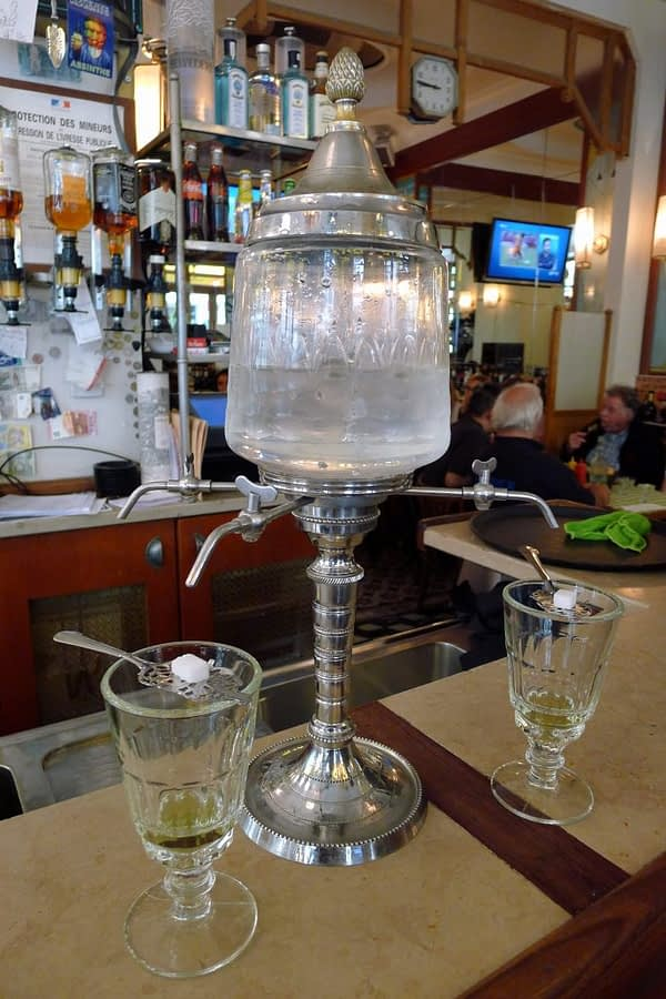 absinthe water fountain