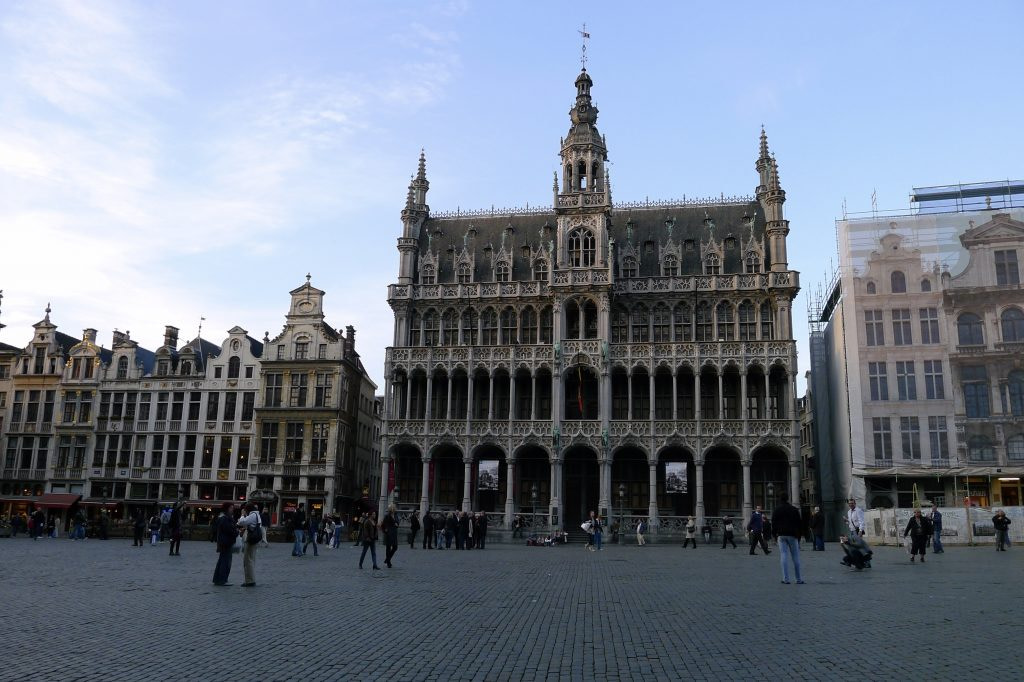 Grand-Place town hall, Brussels. Belgium