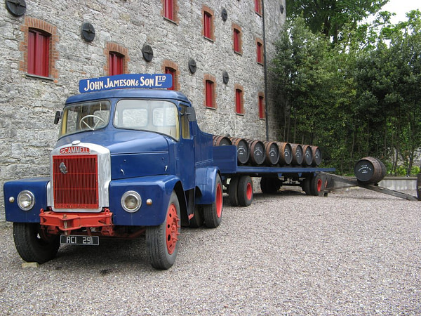 jameson delivery truck