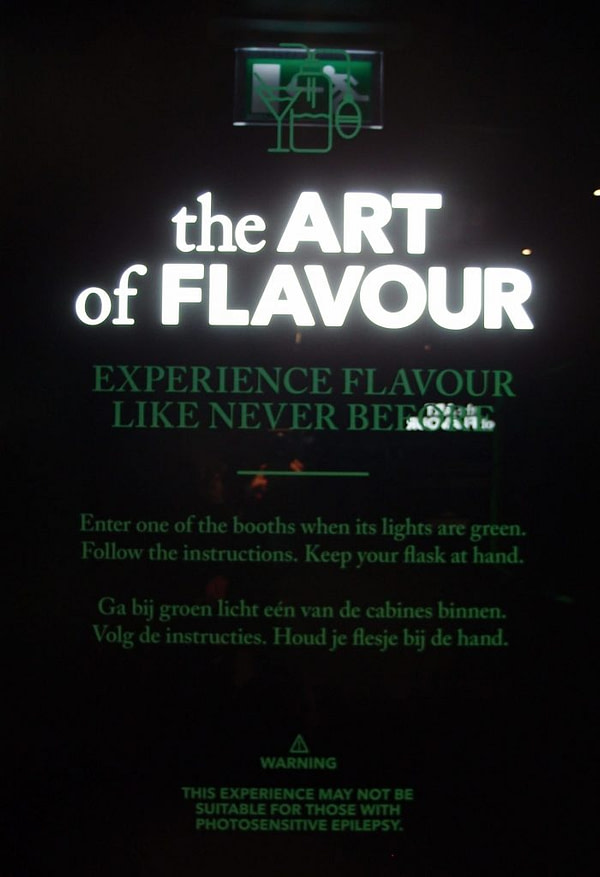 house of bols art of flavour sign