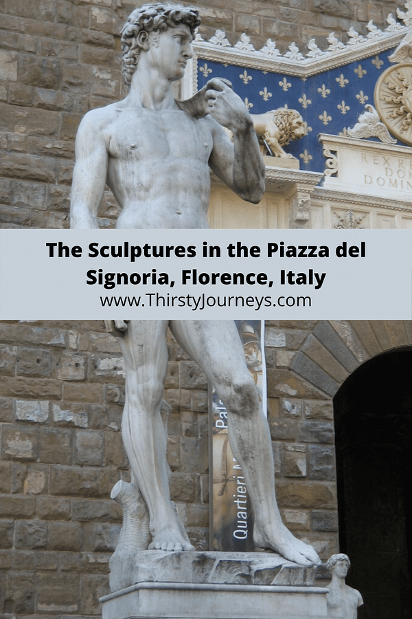Statue of David in the Piazza del Signoria
