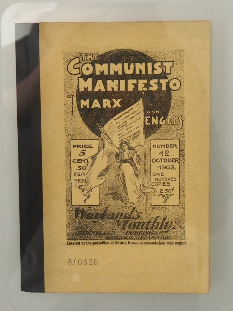 Communist Manifesto, Karl Marx House