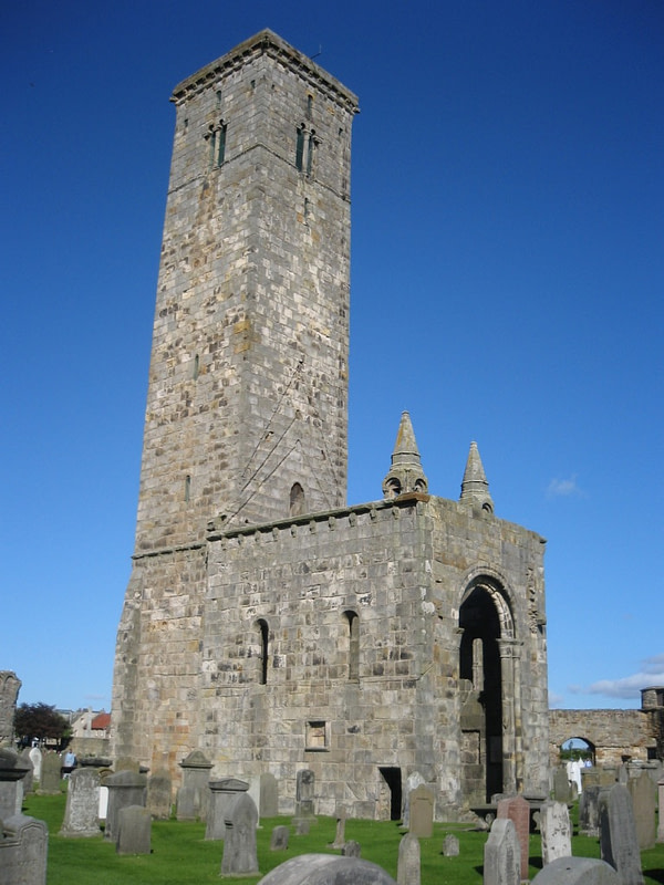 St Rule's tower, Scotland