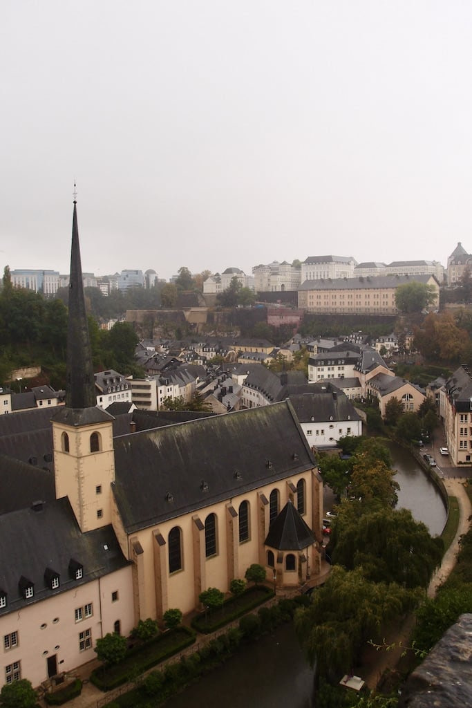 Luxembourg City scenery