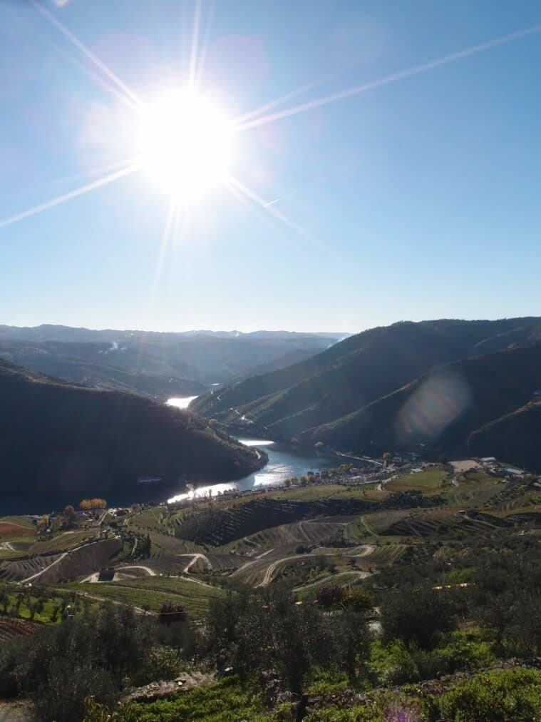 Douro Valley rolling hills